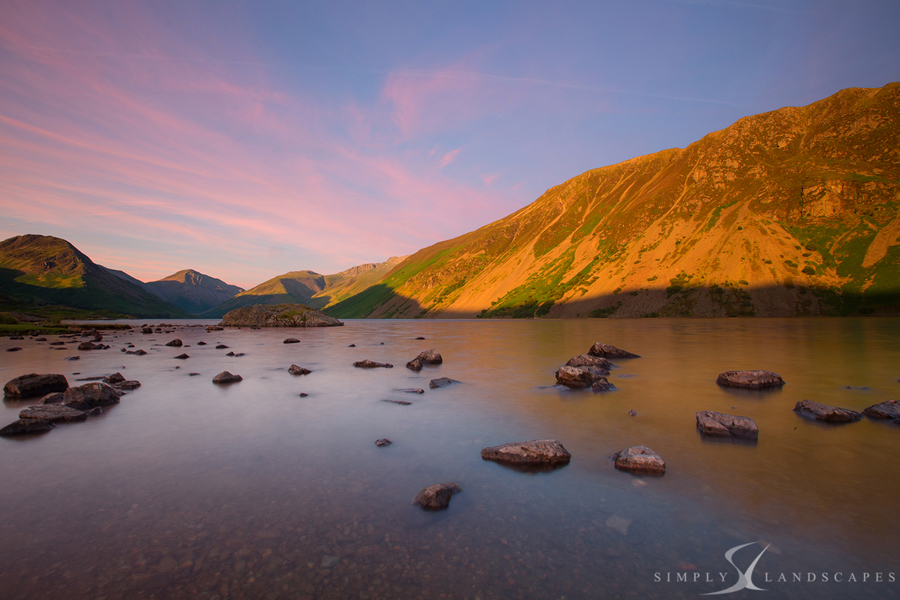 Wastwater Sunset 7396